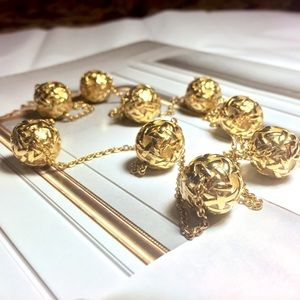 Kate Spade Keswick Gold Scatter Necklace